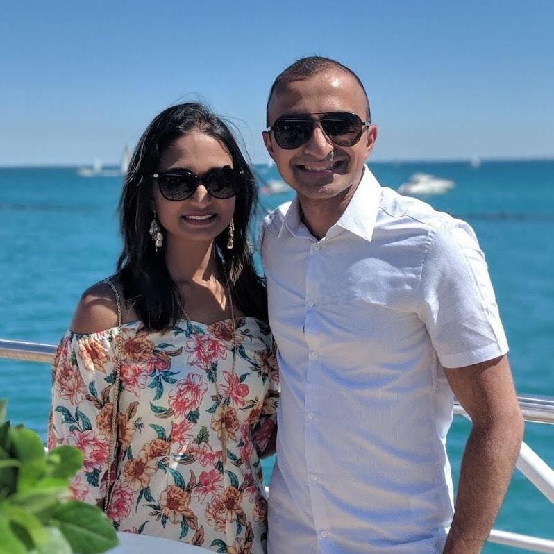 Pooja & Sagar, Couplr App founders