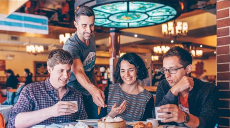 Food tour, double date ideas
