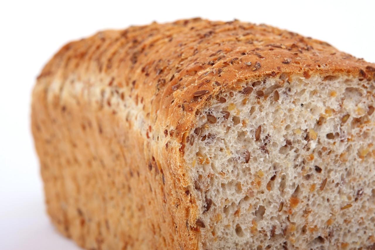 high-fiber, multi-grain bread